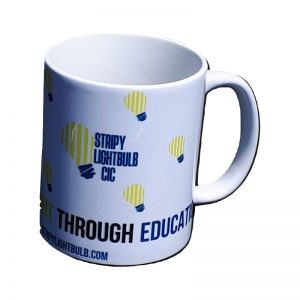 'From Darkness Light Through Education' Mug